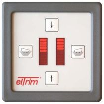 boat trim tab system switch (with efficiency indicator) ELTRIM ST eltrim