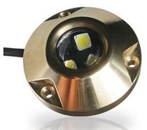 boat underwater light (LED, surface mount, bronze) 0750 SERIES Hella Marine