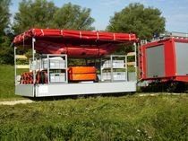 boom reel (trailer mounted) ÖLSPERRE ΙΙΙ Optimal Planen- und Umwelttechnik