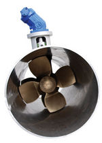 bow thruster for ships (tunnel type, hydraulic) T SERIES OCEAN YACHT SYSTEMS