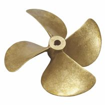 bronze boat propeller (4 blades)  Sole