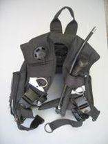 buoyancy compensator for diving rebreather BCD SUBMATIX