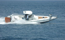 cabin rigid inflatable boat (in-board, sundeck, hard-top) COMMANDER 33 SPORT CABIN Dromor