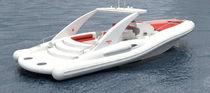 cabin rigid inflatable boat (in-board, sundeck, roll-bar) OPERA 53 OPEN BENNU - OPERA