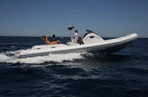 cabin rigid inflatable boat (in-board, sundeck, toilet, shower, sink) WAVE 35 ALTAMAREA - COSTRUZIONI NAUTICHE