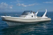 cabin rigid inflatable boat (outboard, sundeck, roll-bar, toilet) TEMPEST 1000 WA Capelli