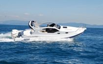 cabin rigid inflatable boat (outboard, twin engine, sundeck, roll-bar) TANGO FB Asso-Prestige