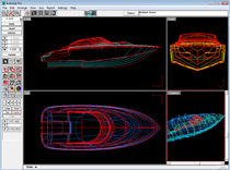 calculation software for boat hull design AUTOSHIP Autoship, Coastdesign Norway AS