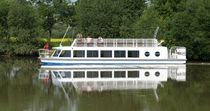canal boat : sightseeing boat MORAVA MANDL - Living on Water, Ltd.