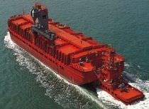 cargo ship : copper tanker (shipyard) 15 000 DWT Keppel Shipyard