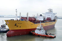 cargo ship : chemical tanker (shipyard)  SembCorp Marine Ltd