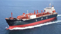 cargo ship : LPG carrier (shipyard) RHOURD EL ADRA Namura Shipbuilding Co., Ltd