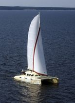 charter catamaran (sailboat) AMBERCAT 210 Lerouge yachts