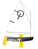 children's sailing dinghy : OPTIMIST OPTO Z Atelier-z