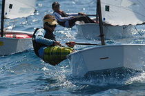 children's sailing dinghy : OPTIMIST  AB RE - ASTRO Barcelona Racing Equipment, SL