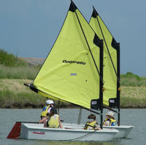 children's sailing dinghy : OPTIMIST OPTIPRATIC Philéas Boats