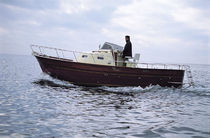 classic boat : center console (with cabin) SUPER CORALLO 27 CO.ME.NA