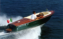 classic boat : center console (custom-made) SUPER CLASSIC 23 OffShore Costruzioni Nautiche