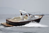 classic boat : center console (gozzo, cabin) G29 Girbau Boats