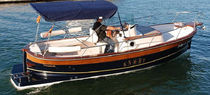 classic boat : center console (with cabin) SEMICABIN 32 ESBARJO Knort Boats