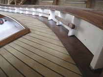 classic boat : in-board cabin-cruiser (custom-made)  CHANTIER NAVAL BORG - Marseille