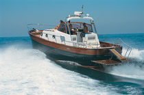 classic boat : open express-cruiser SUPER CORALLO 37 CO.ME.NA