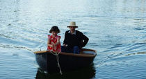 classic boat : open rowing boat ILIA 8 / ILIA 10 Black Pepper