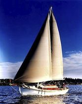 classic sailboat MEANS OF GRACE Devlin