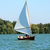 classic sailing and rowing open boat JIMMY SKIFF ARWEN MARINE