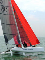 coastal racing sport catamaran (spinnaker, double trapeze) CIRRUS EVOLUTION Boulogne Conception Marine