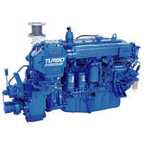 commercial marine engine : in-board diesel engine 100 - 300 hp (indirect injection, turbocharged) UM6BG1TC (154 KW @ 2600 RPM -> 169 KW @ 2700 RPM) Isuzu motors