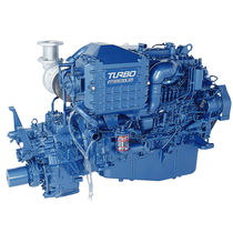commercial marine engine : in-board diesel engine 200 - 400 hp (indirect injection, turbocharged) UM6SD1TCX (254 KW @ 2220 RPM -> 279 KW @ 2300 RPM) Isuzu motors