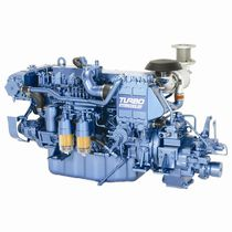 commercial marine engine : in-board diesel engine 300 - 500 hp (common-rail, turbocharged) UM6HK1WM-AB (224 KW @ 2400 RPM) Isuzu motors