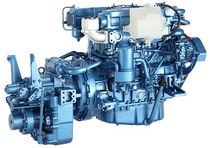 commercial marine engine : in-board diesel engine 50 - 100 hp (indirect injection, natural aspiration) UM4JB1 (49 KW @ 3200 RPM) Isuzu motors