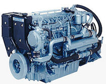 commercial marine engine : in-board diesel engine 100 - 300 hp (direct injection, natural aspiration) M150TI (150 HP @ 2500 RPM) Perkins Sabre