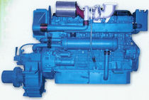 commercial marine engine : in-board diesel engine 300 - 500 hp (direct injection, turbocharged) HD613TA (430 HP @ 1800 RPM -> 490 HP @ 2000 RPM) Hyundai EN-TECH