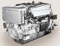 commercial marine engine : in-board diesel engine 300 - 500 hp (direct injection, turbocharged) S60-1A (350 -> 500 HP @ 1800 RPM) MTU Friedrichshafen