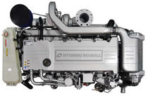 commercial marine engine : in-board diesel engine 300 - 500 hp (direct injection, variable geometry turbocharger) H380 (380 HP @ 1800 PM) Hyundai Seasall France