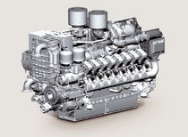 commercial marine engine : in-board diesel engine 3000 - 4000 hp (common-rail, sequential turbocharger) 16V 4000 M73/M73L-1B (3430 h@ 1970 rpm-> 3860 hp @ 2050 rpm) MTU Friedrichshafen