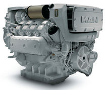 commercial marine engine : in-board diesel engine 400 - 600 hp (direct injection, turbocharged) D2868 LE 421 (600 HP @ 1800 RPM) Man Nutzfahrzeuge AG