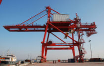container gantry crane (ship-to-shore)  Nanjing Port Machinery