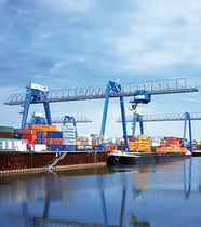 container gantry crane (ship-to-shore) WSG Series Gottwald Port Technology