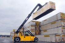 container reach-stacker (with top-lift spreader) TS SERIES Taylor Machine Works