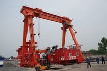 container stacking crane (rail mounted)  Nanjing Port Machinery
