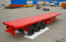 container trailer (tri-axle) FLATBED  TIANDI Heavy Industry
