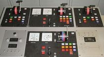 control panel for ship propeller (with control handle)  Masson Marine