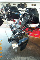 conversion kit for boat propulsion system : stern-drive to surface drive BRAVO� CONVERSION Arneson Industries LLC
