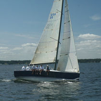 cruiser-racer sailboat 35 SUMMIT YACHTS