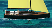 cruiser-racer sailboat (open transom, lifting keel) YOUNG 38 Young Yacht Design