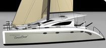 cruising catamaran (sailboat) CROSSOVER Spirited Designs